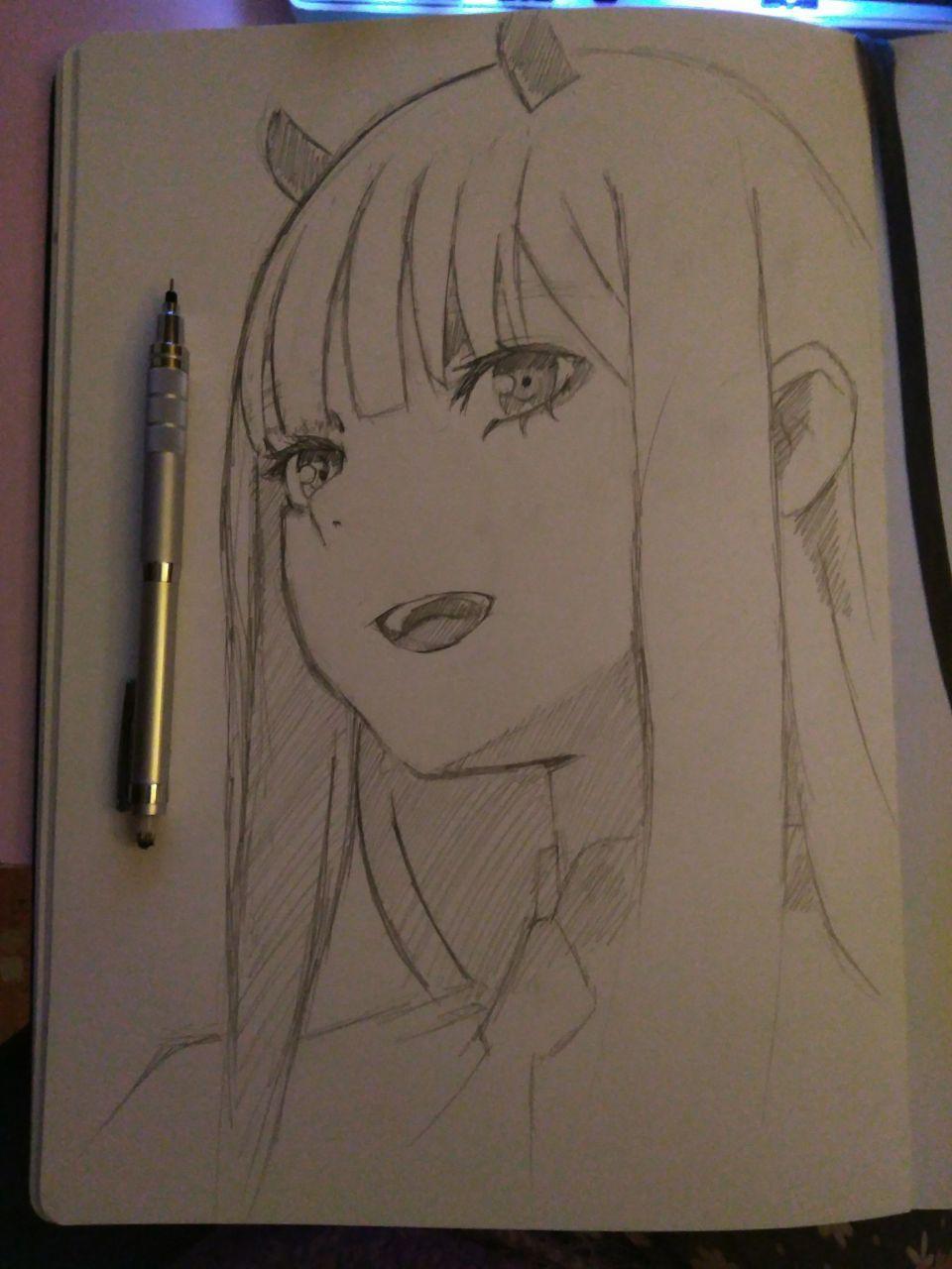 Zero Two - sketch
