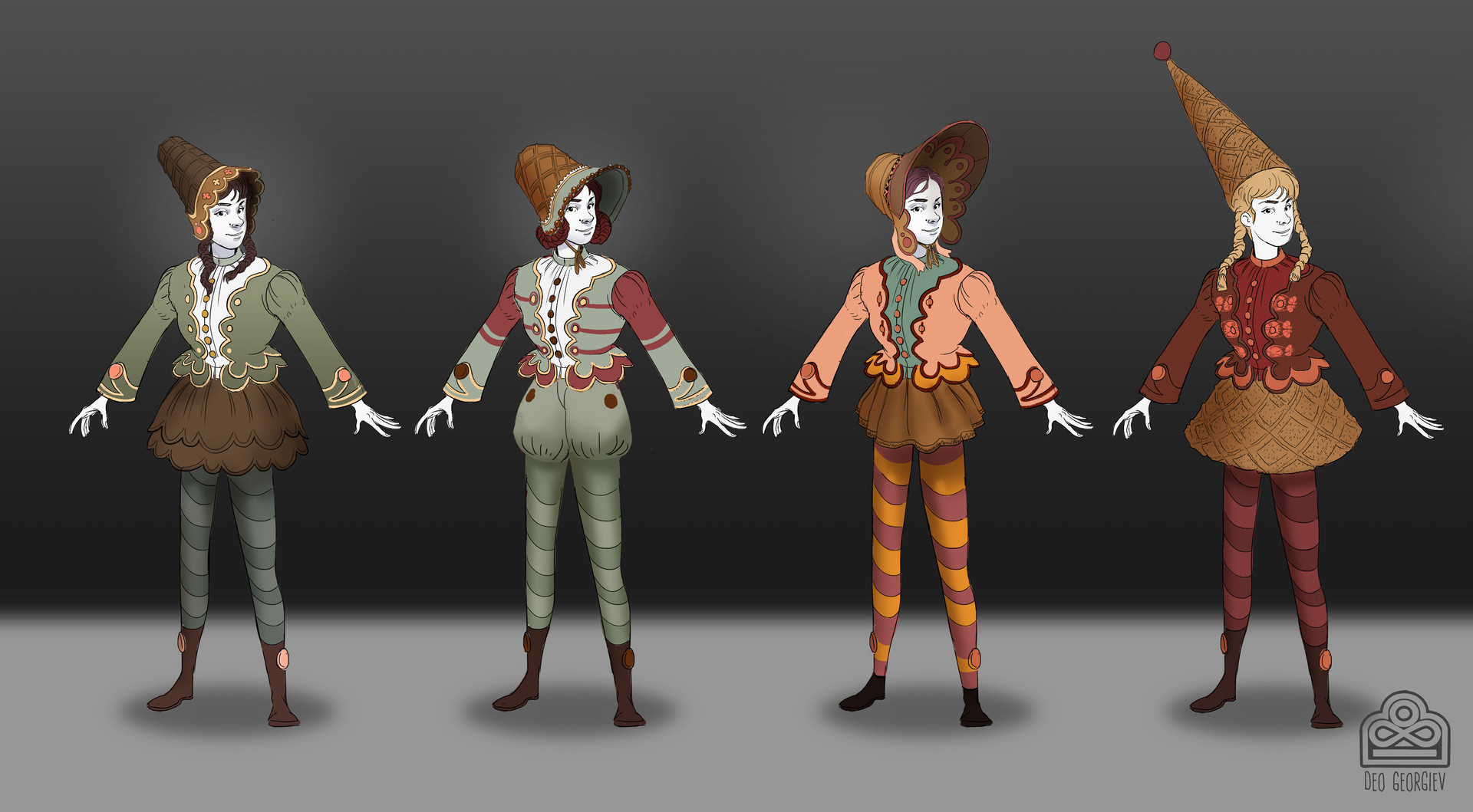 Stage 2  Costume  Iterations