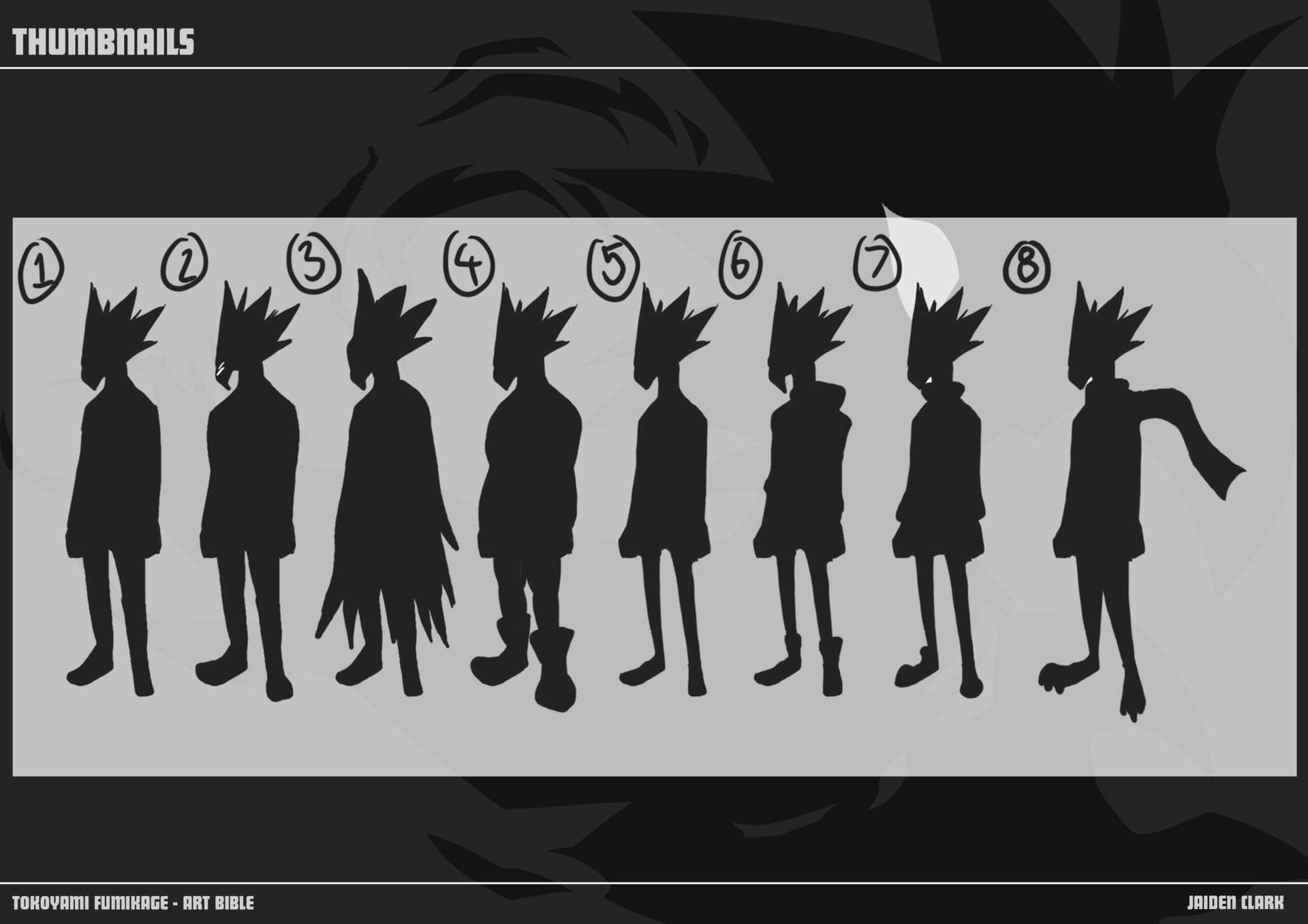 Concepting - Silhouette thumbnails