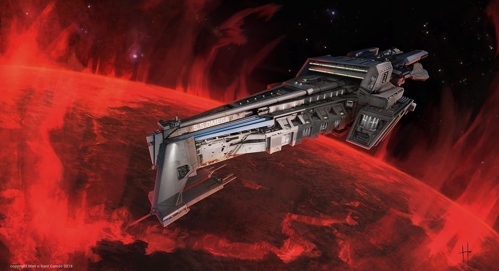 Space Ship Omega
