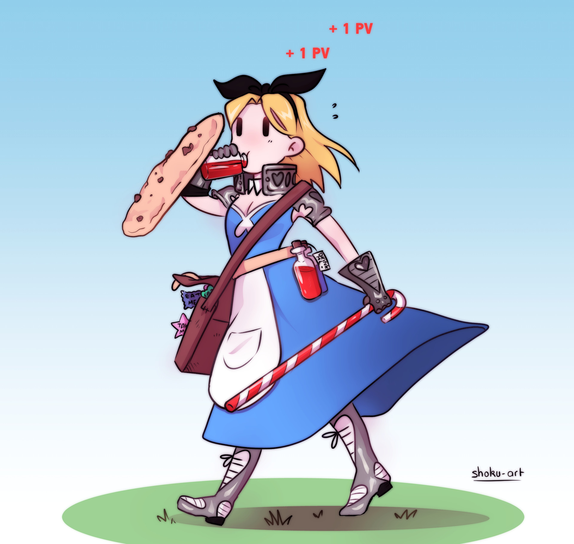 tiffany porta character design challenge rpg alice in wonderland