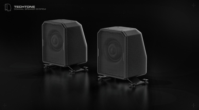 Ivan santic speaker dual front a01a2 custom