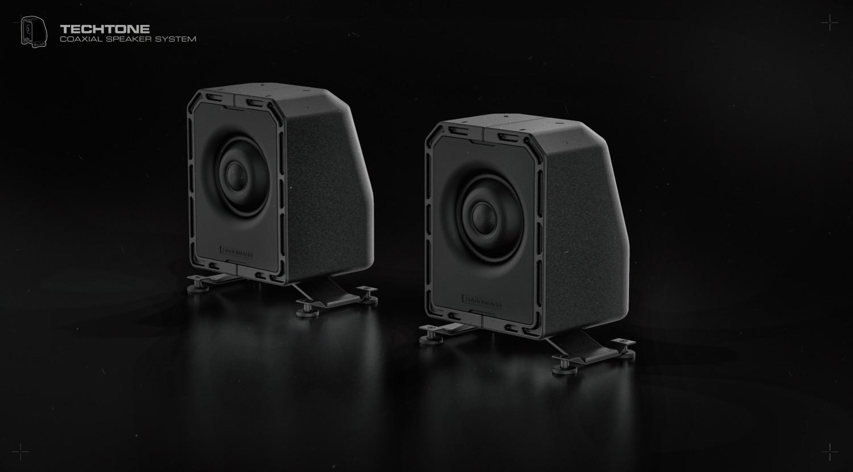 Ivan santic speaker dual front a01b2 custom
