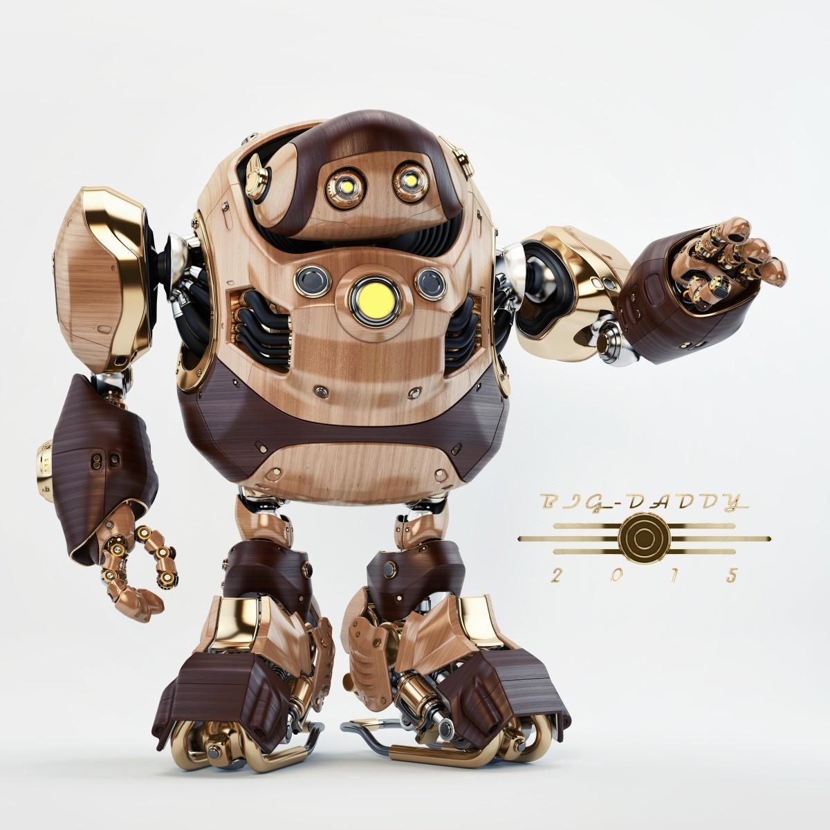 Vladislav ociacia big daddy robot 1