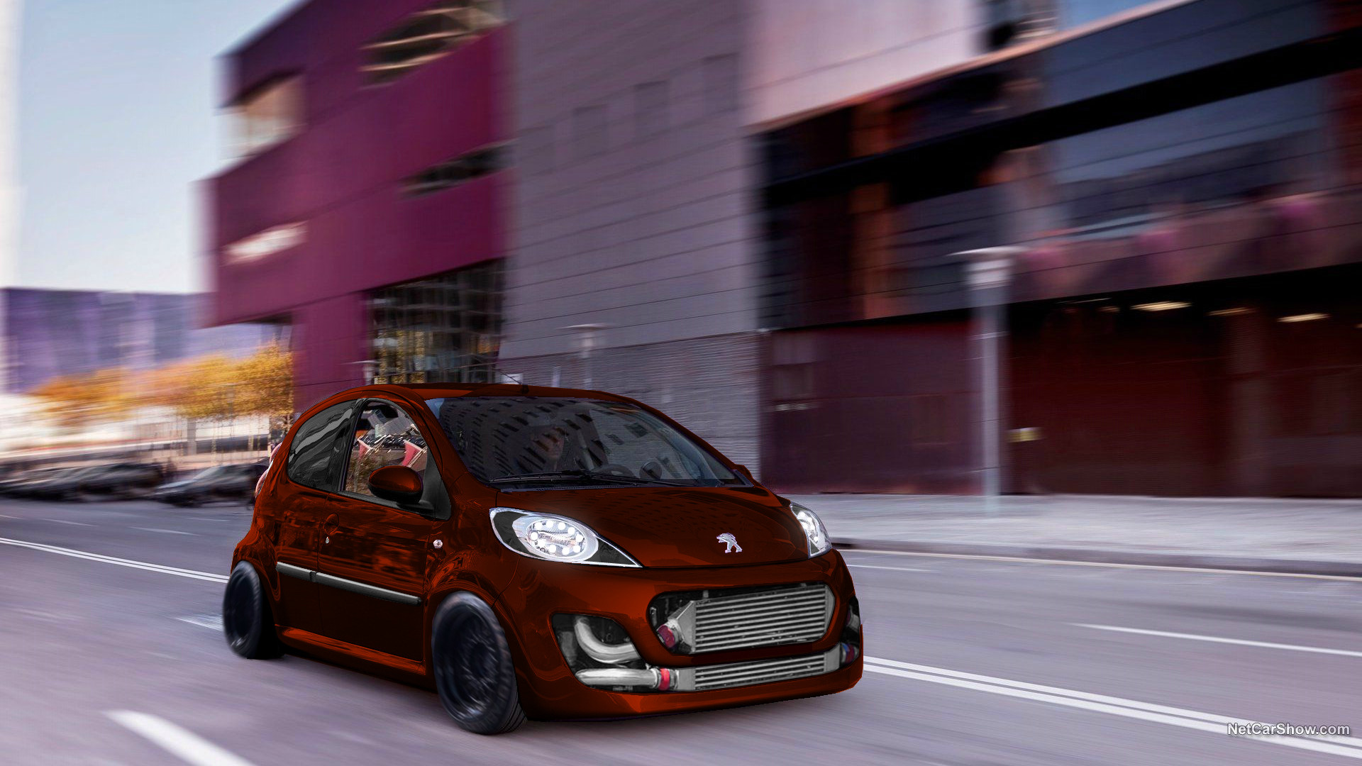 Artstation Peugeot 107 Stance And Before And After Peppe Pica Yt