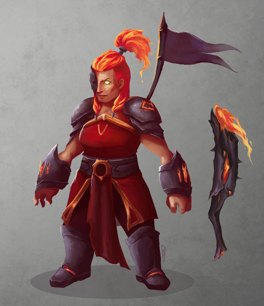Fire Knight Concept - Skydome