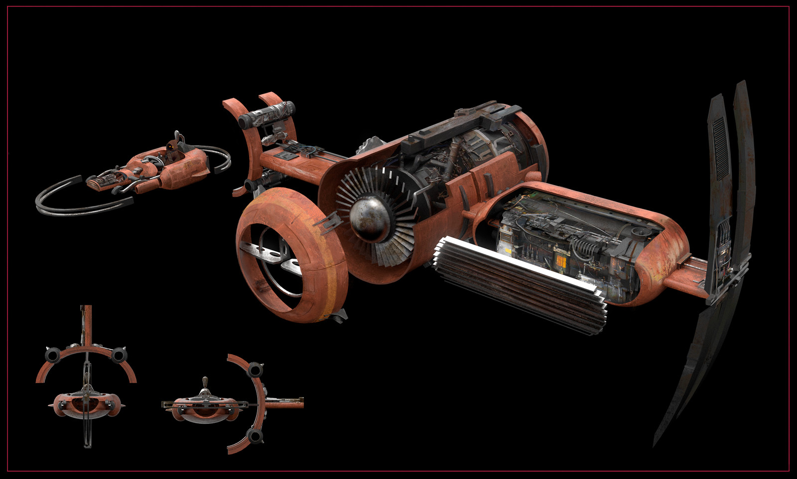 Cross-Section: Jawa Speeder