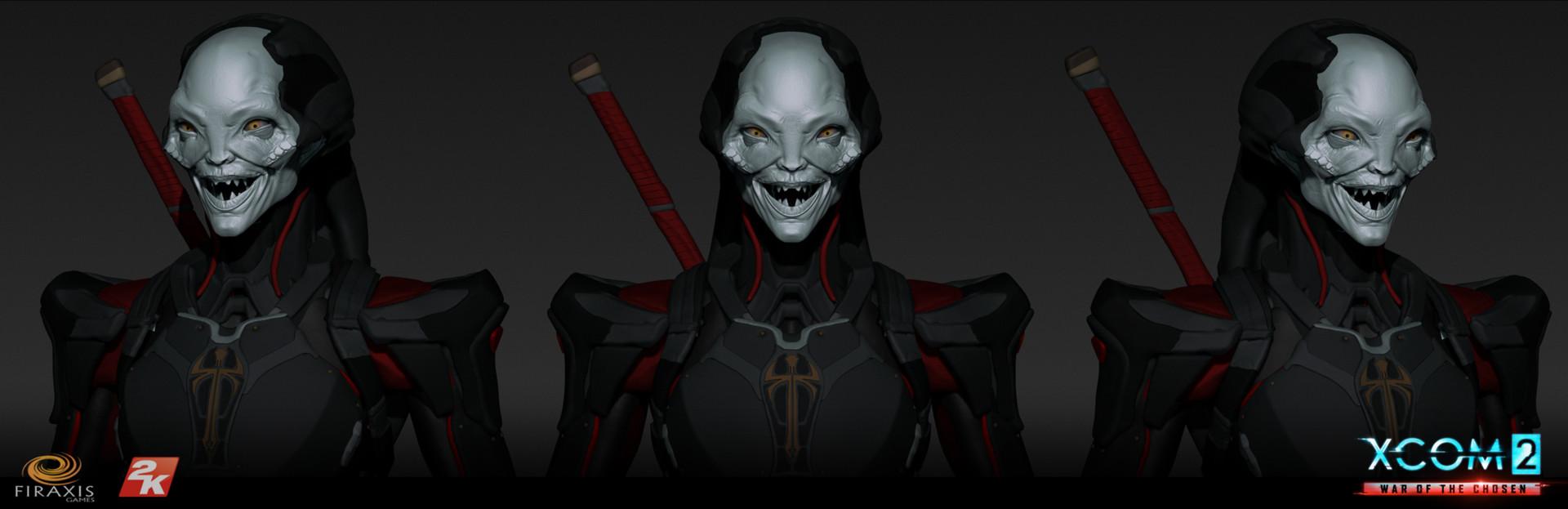 Matthew kean chosen assassin eexpressions smile