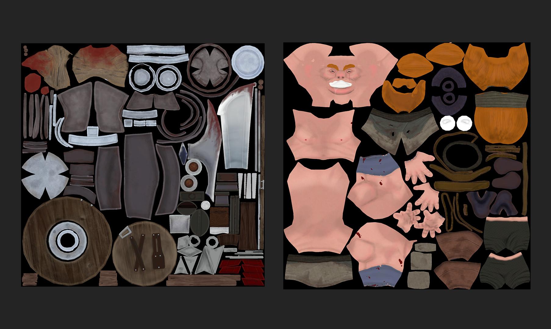 Emil loiselle textures map