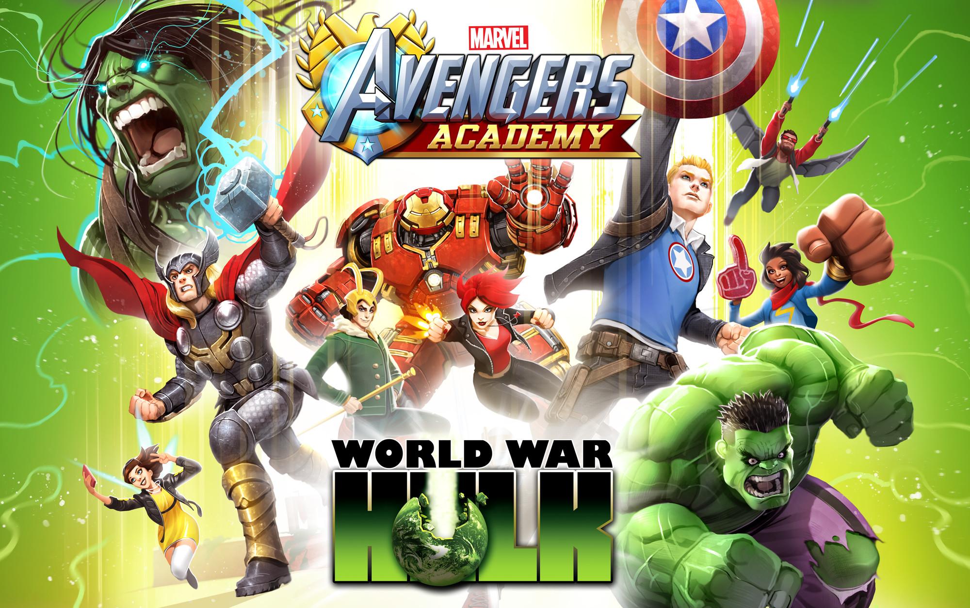 World War Hulk key art.