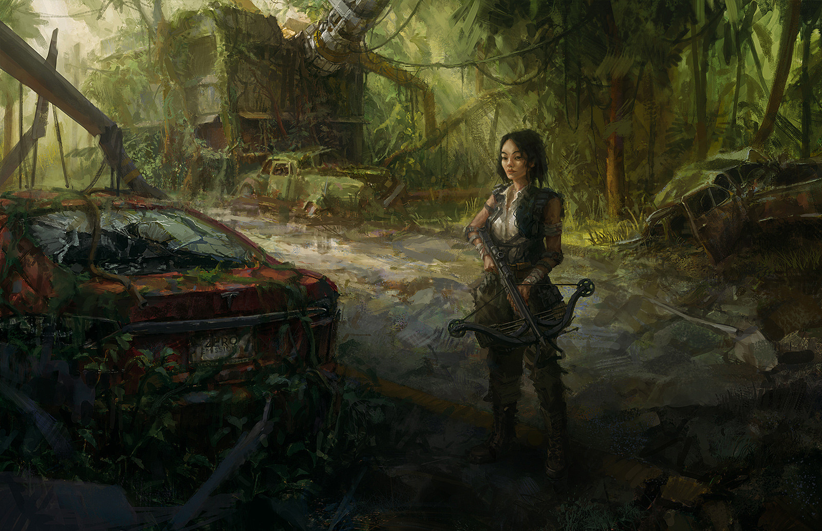 Eric Prout Post Apocalyptic City