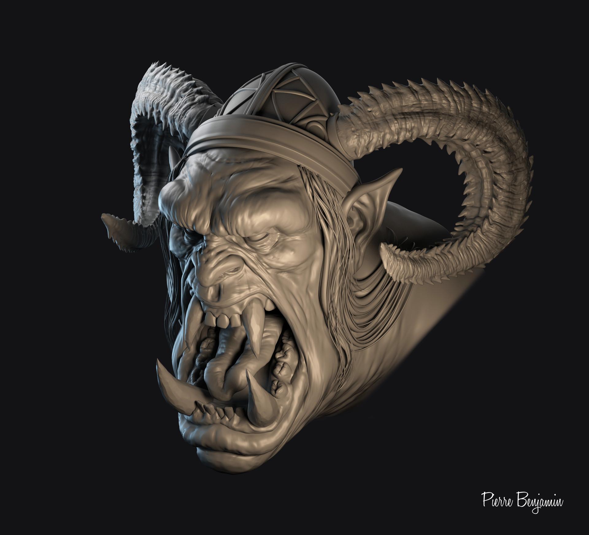 Pierre benjamin orc new render 0003dfdfdfdfd