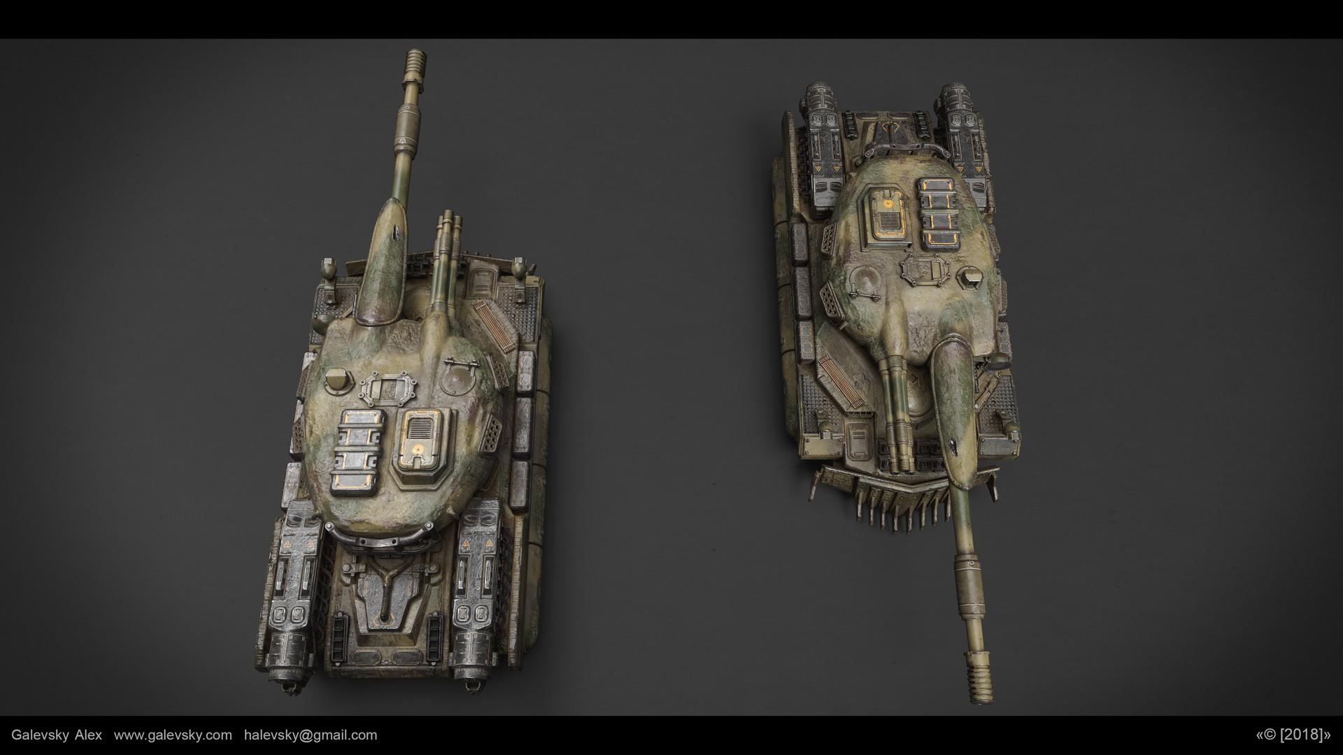 Aleksander galevskyi model 08