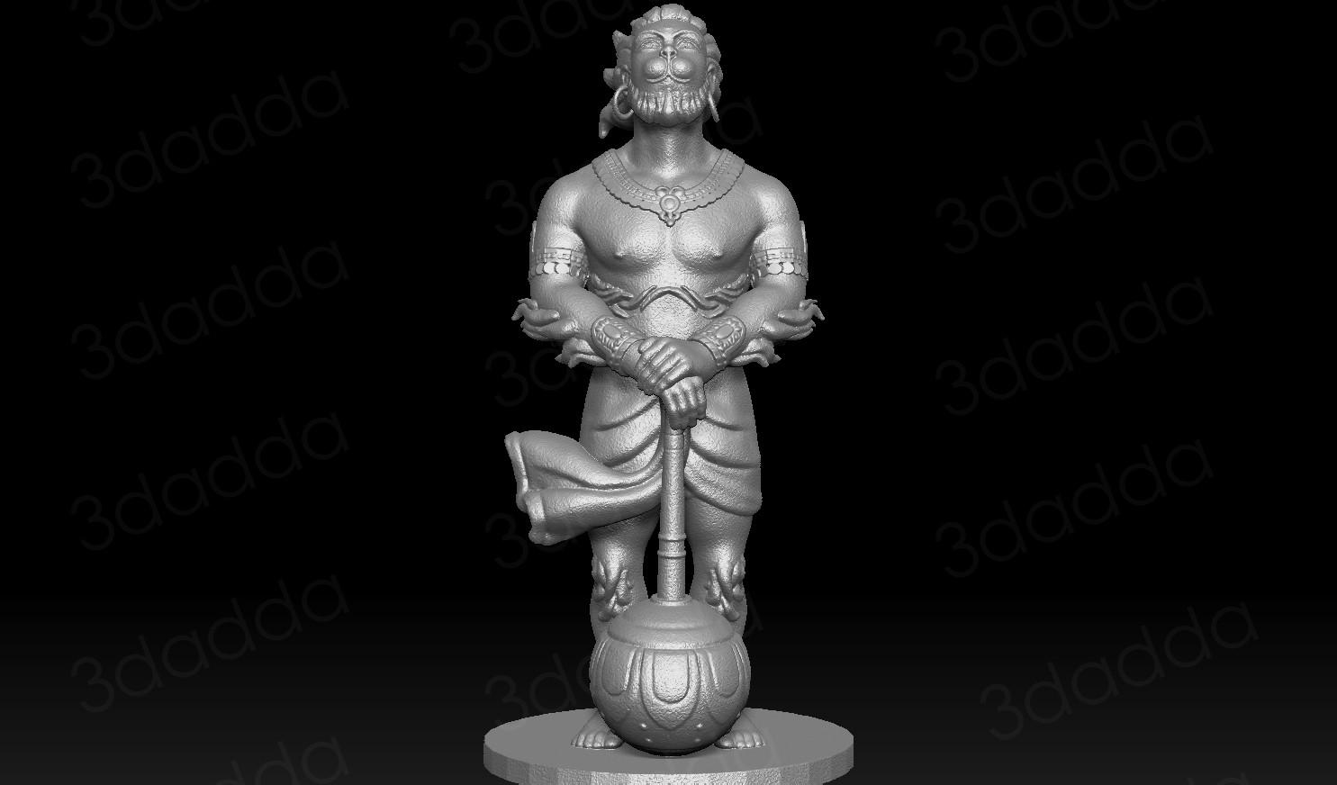 vicky kapure hanuman 3d model for 3d printing