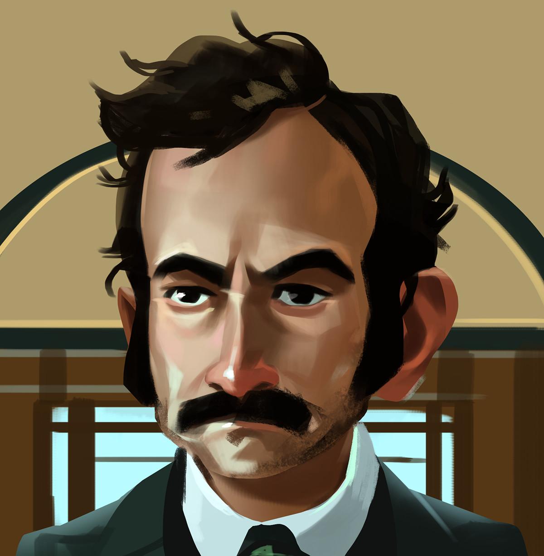 Poe sketch