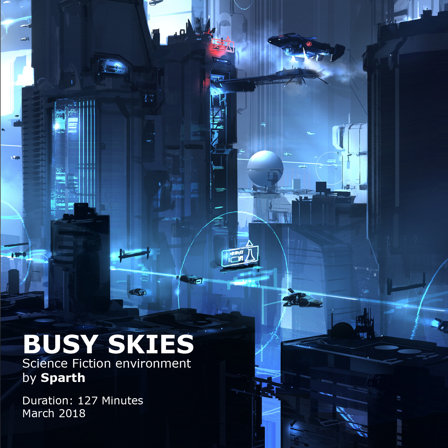 Sparth busy skies
