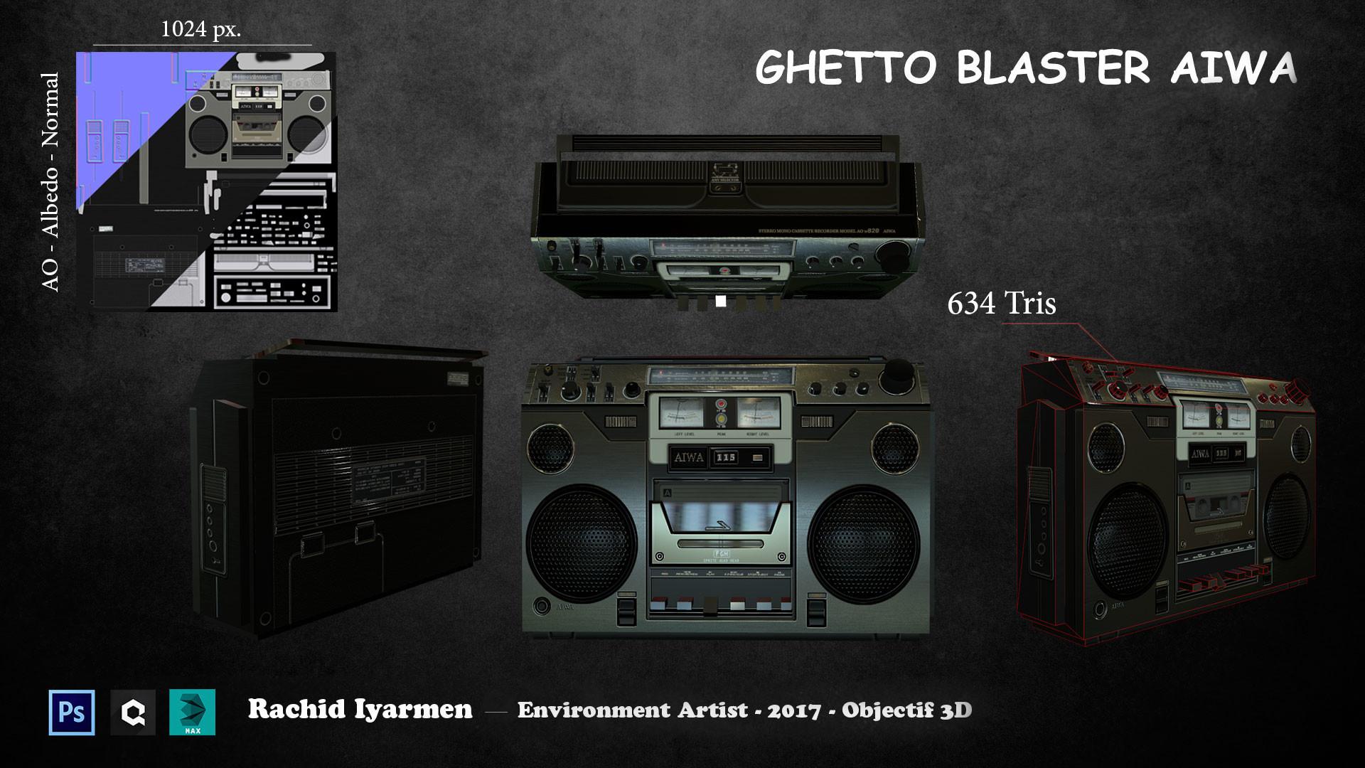 Rachid iyarmen planche ghetto blaster
