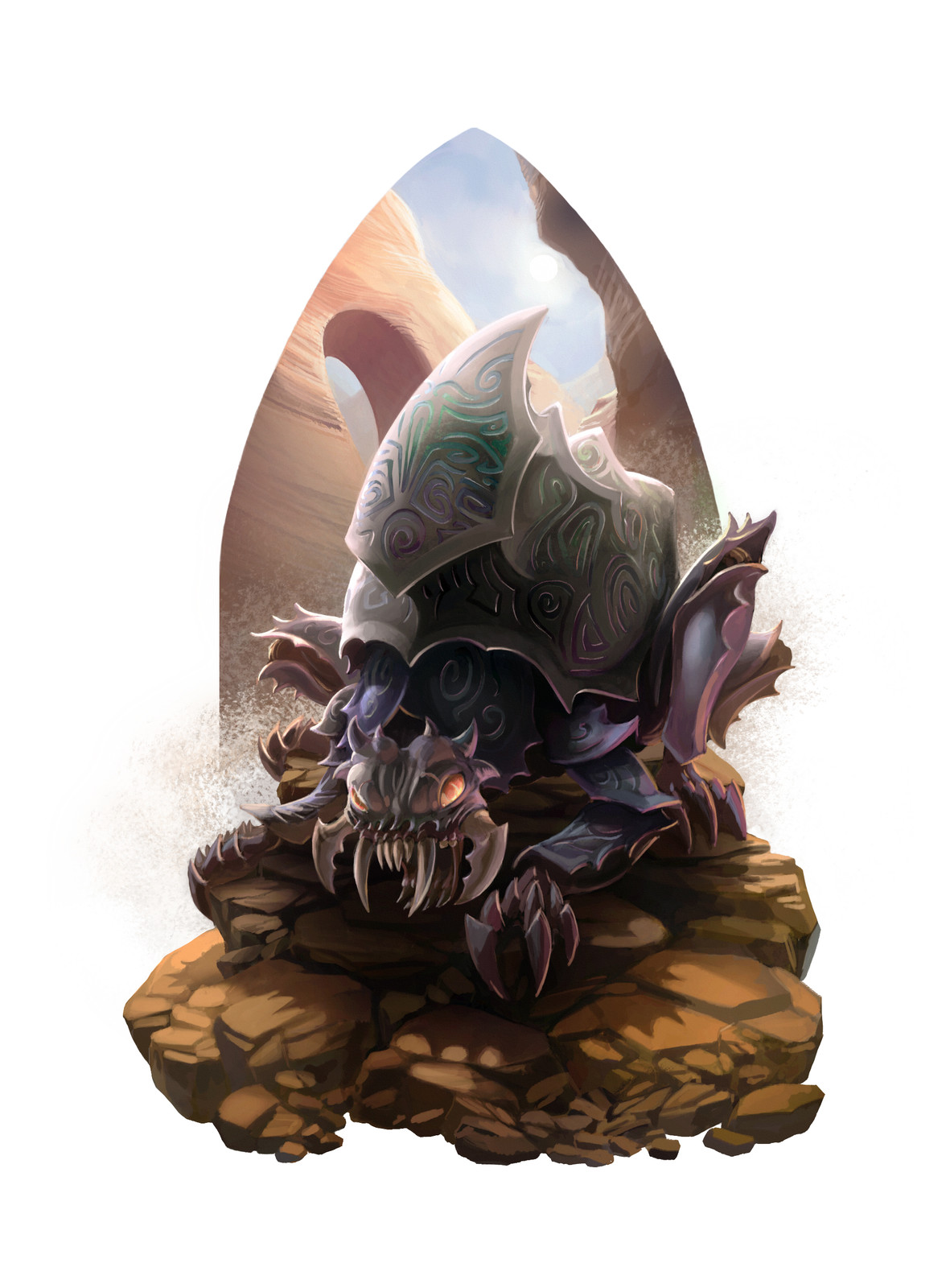 Rune Spiral Demon