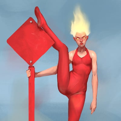 Mateusz wieczorek red costume