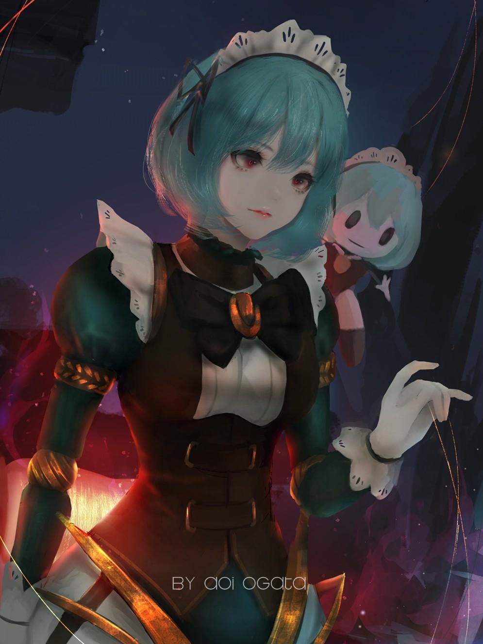 ArtStation - Angela - Mobile Legends, Aoi Ogata