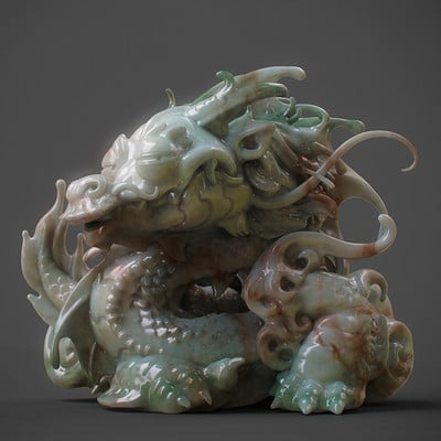 Zhelong xu the babydragon01