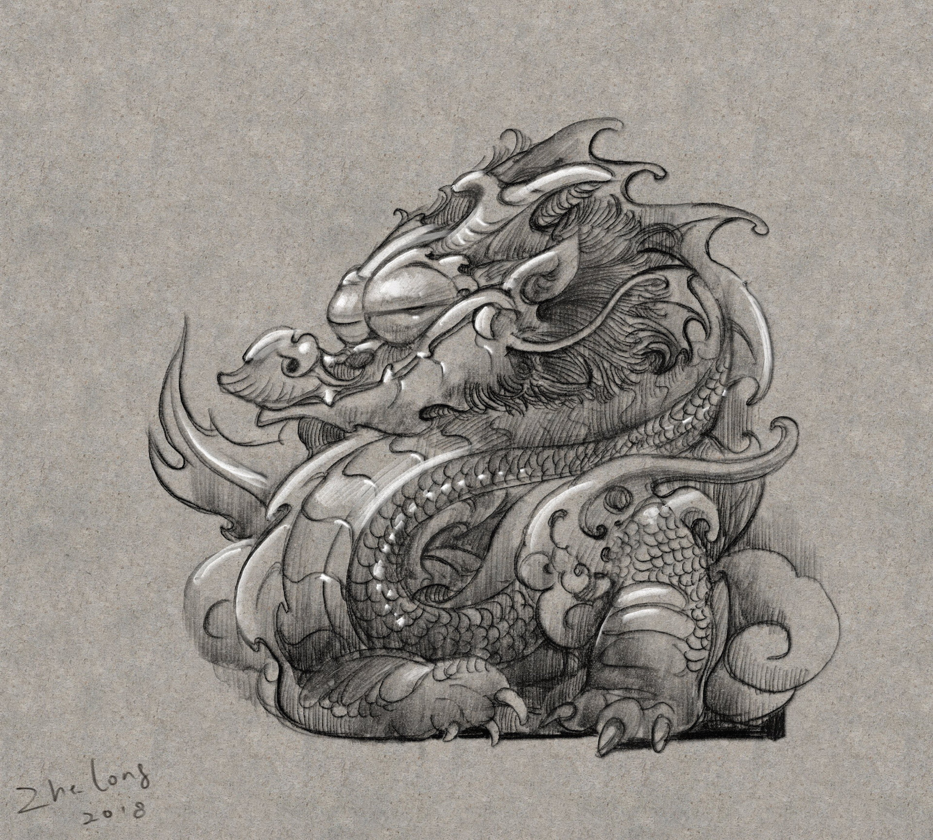Zhelong xu the babydragon03