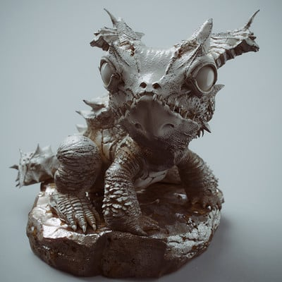 Zhelong xu the kirin frog001