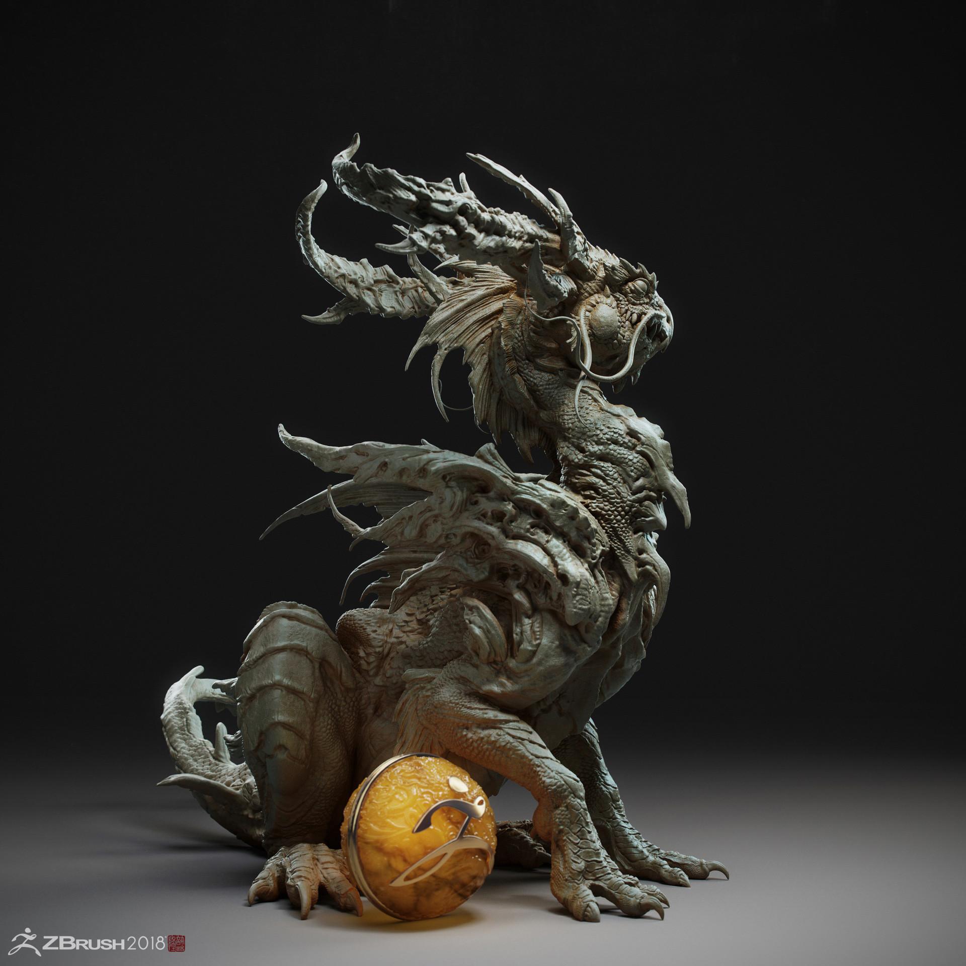 Zhelong xu the dragon ball004