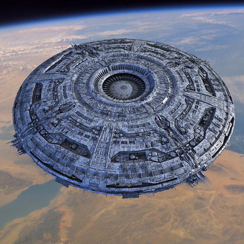 stephane chasseloup ufo mothership