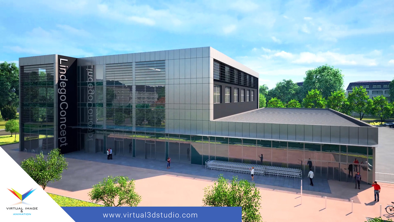 Animation of the Lindego Concept office investment.