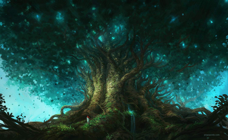 artstation tree of life jorge jacinto