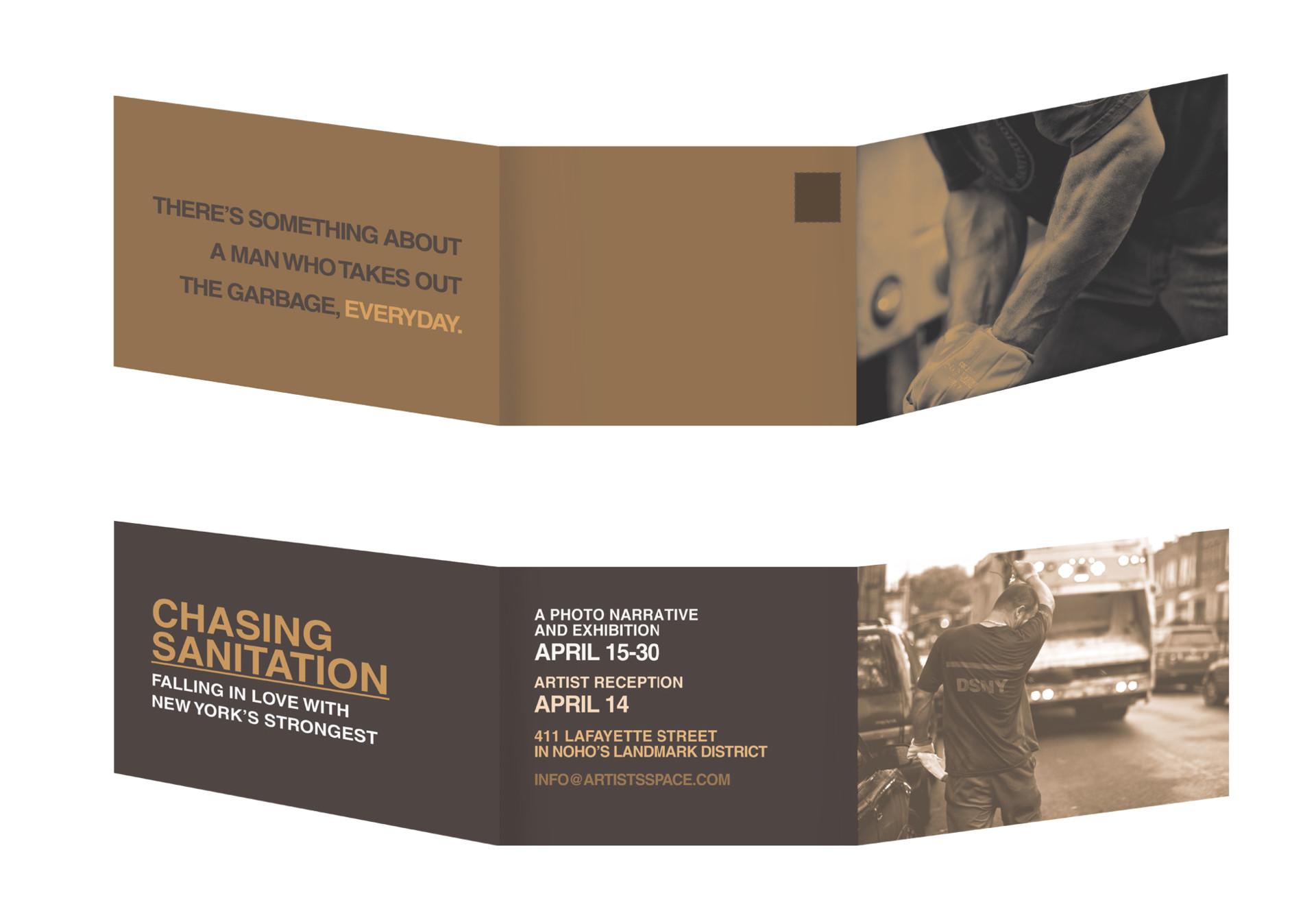 shivana brhamadat trifold mailer invitation