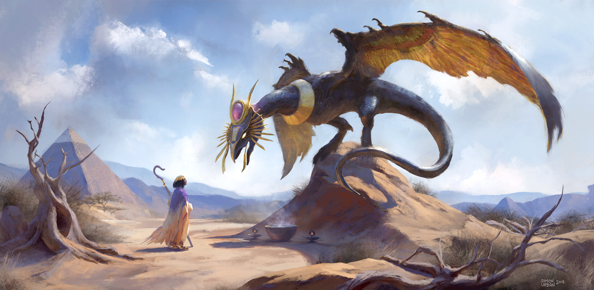 Mythological Dragons: Egyptian Dragon, Simon Urban