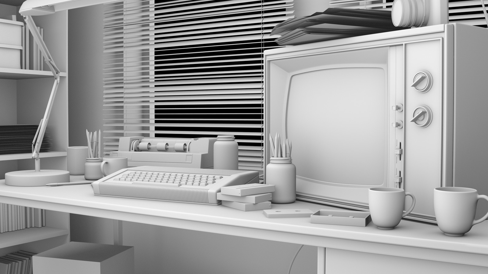 WIP - 'Birthday' film: 1980's Bedroom Environment