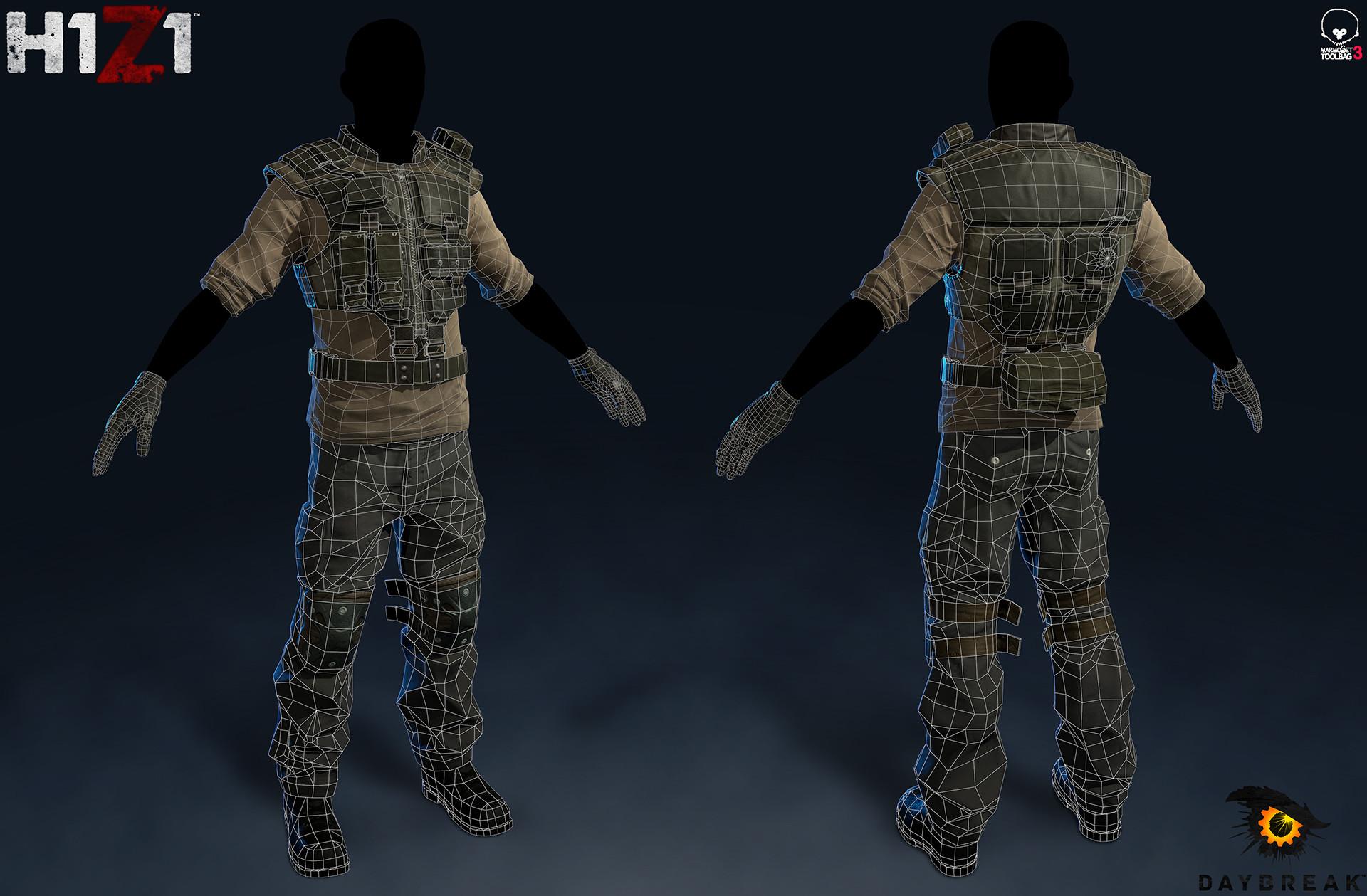 Satoshi arakawa male outfit 1 wires