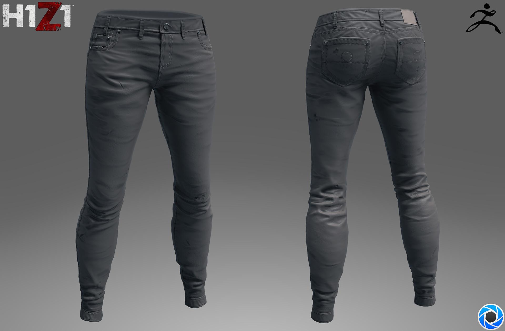 Satoshi arakawa female jeans sculpt
