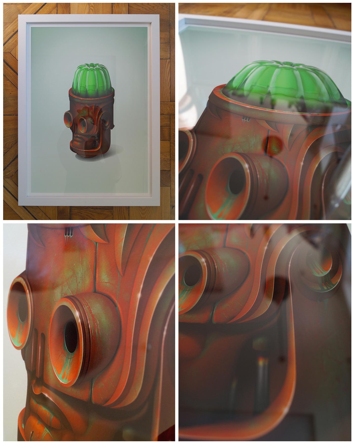 70x50cm print
