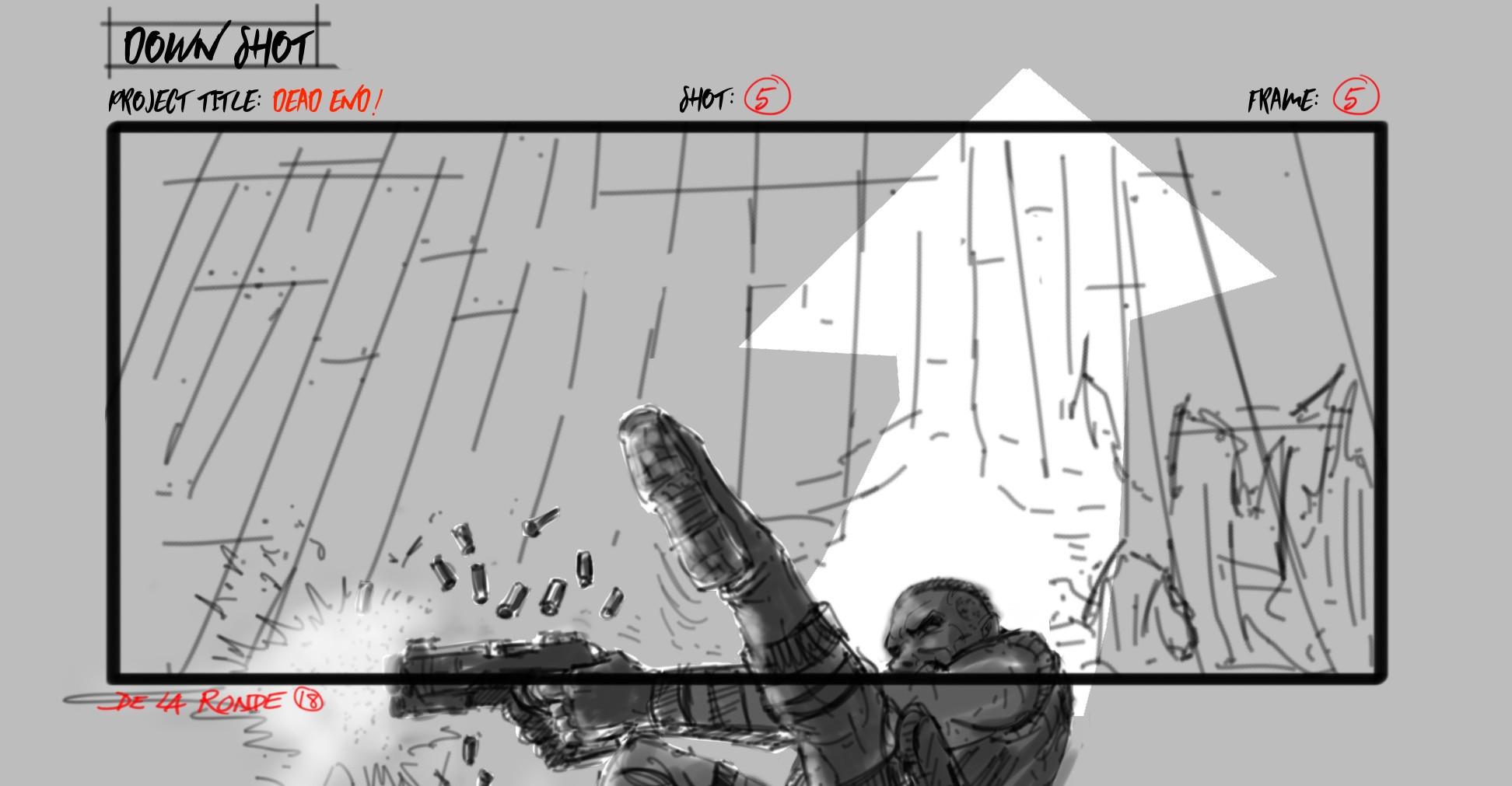 Board Sample Shot Type: Down Shot