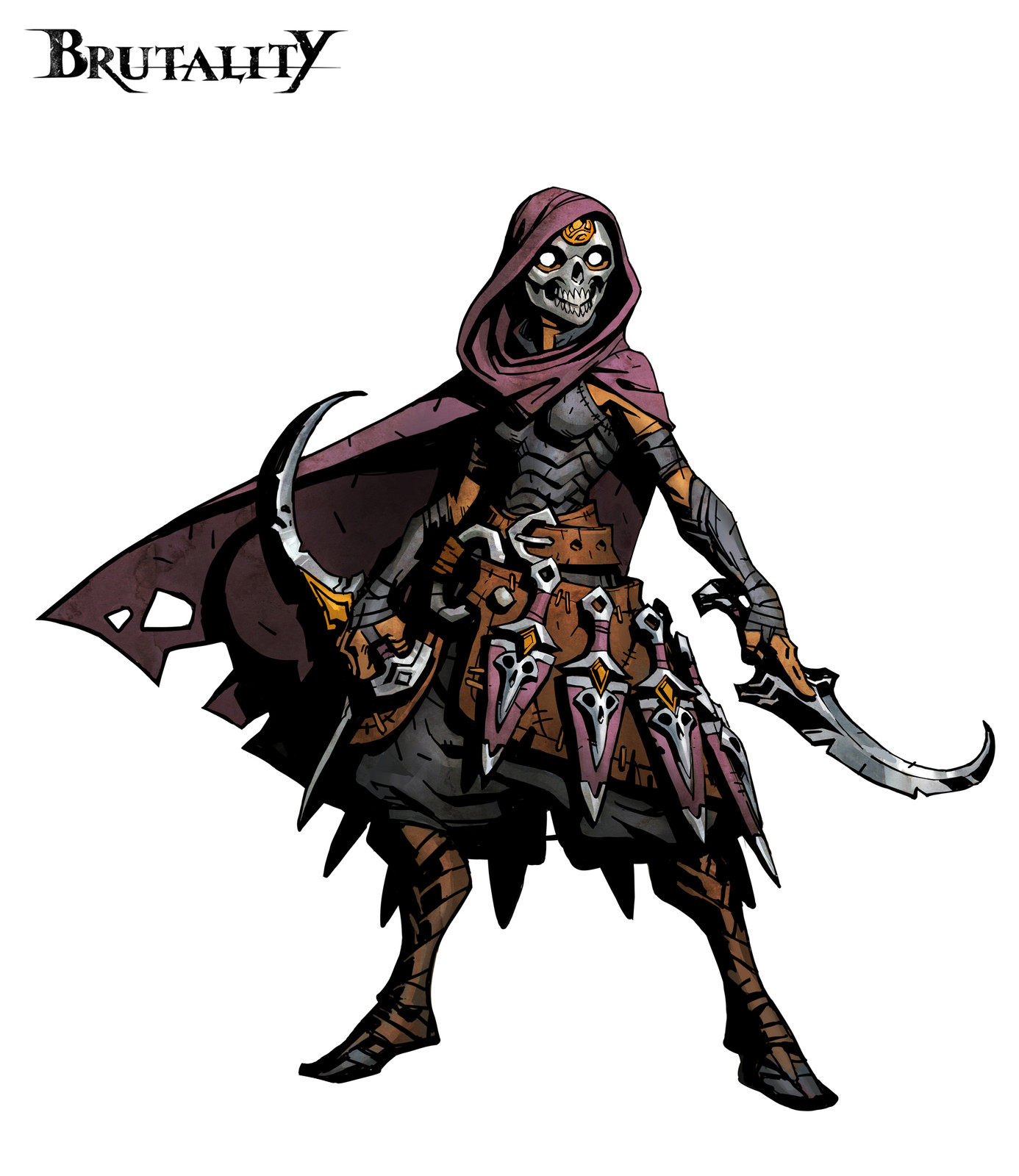 Astar'Al, The Assassin - Brutality Board Game Character