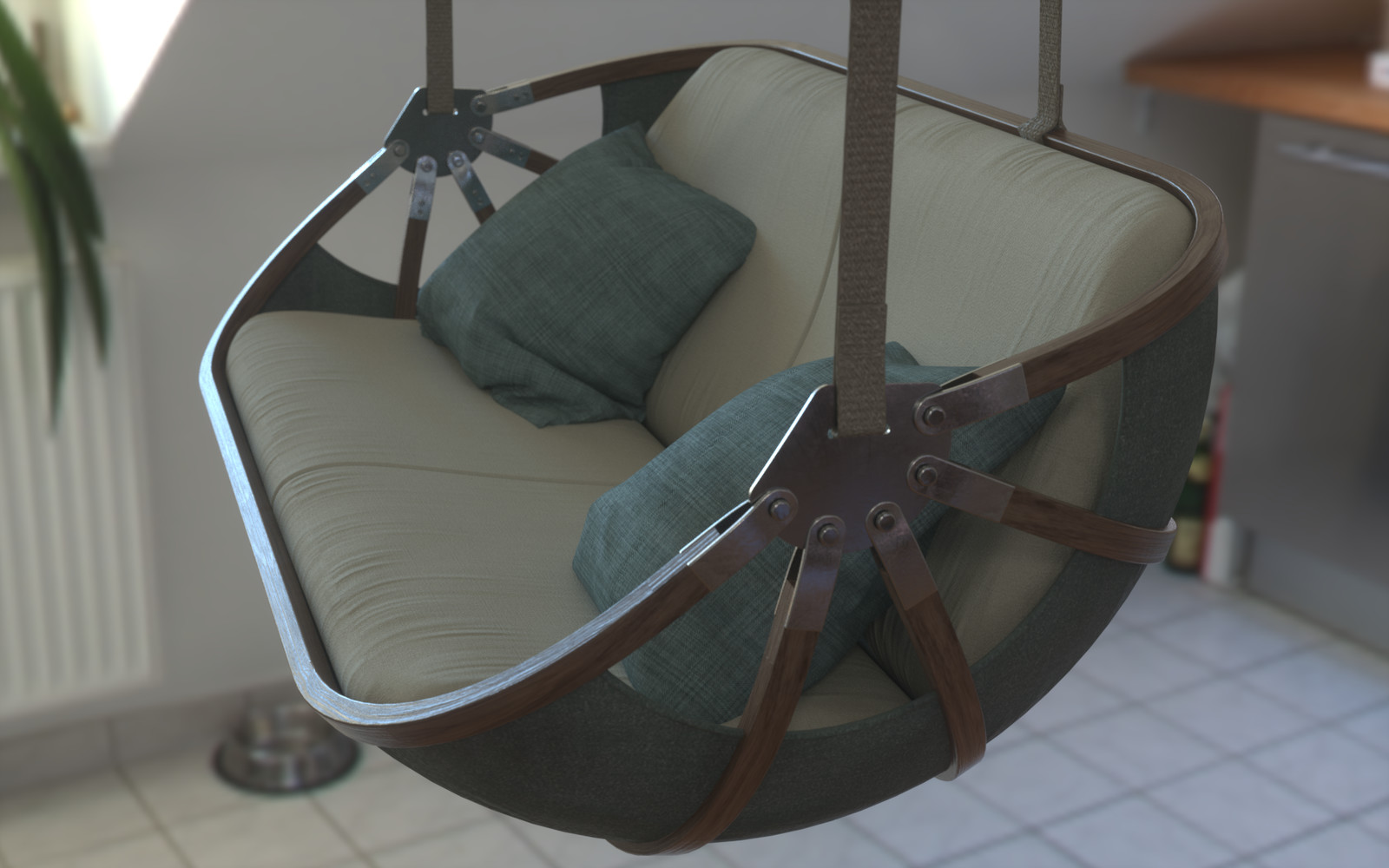 Swing Boat Sofa