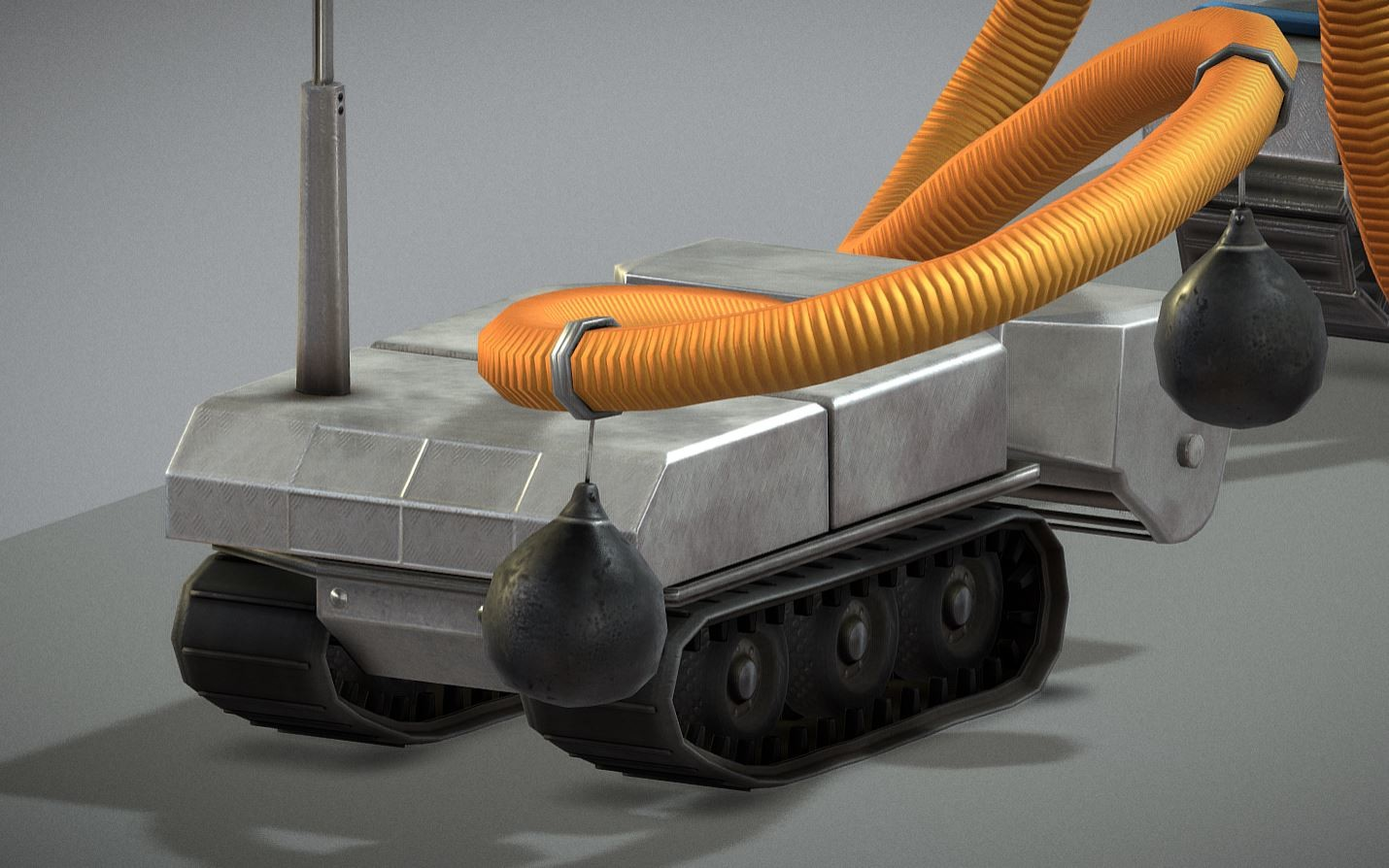 Desludging robot