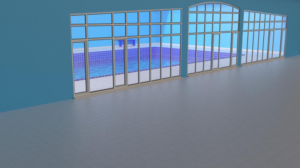Pool 1 - Outside view