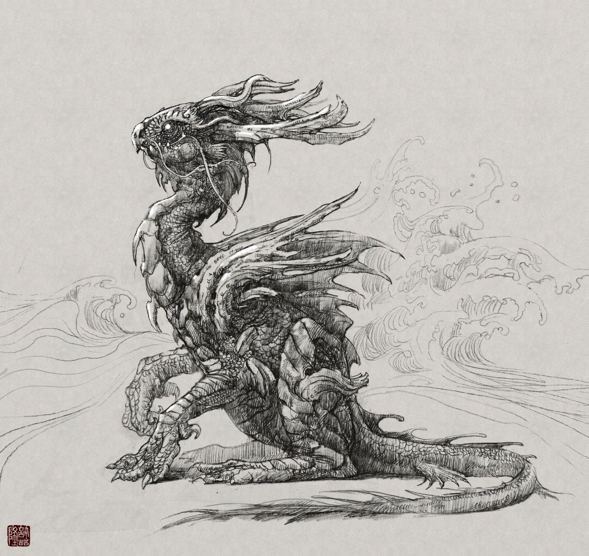 Zhelong xu dragon ball concept