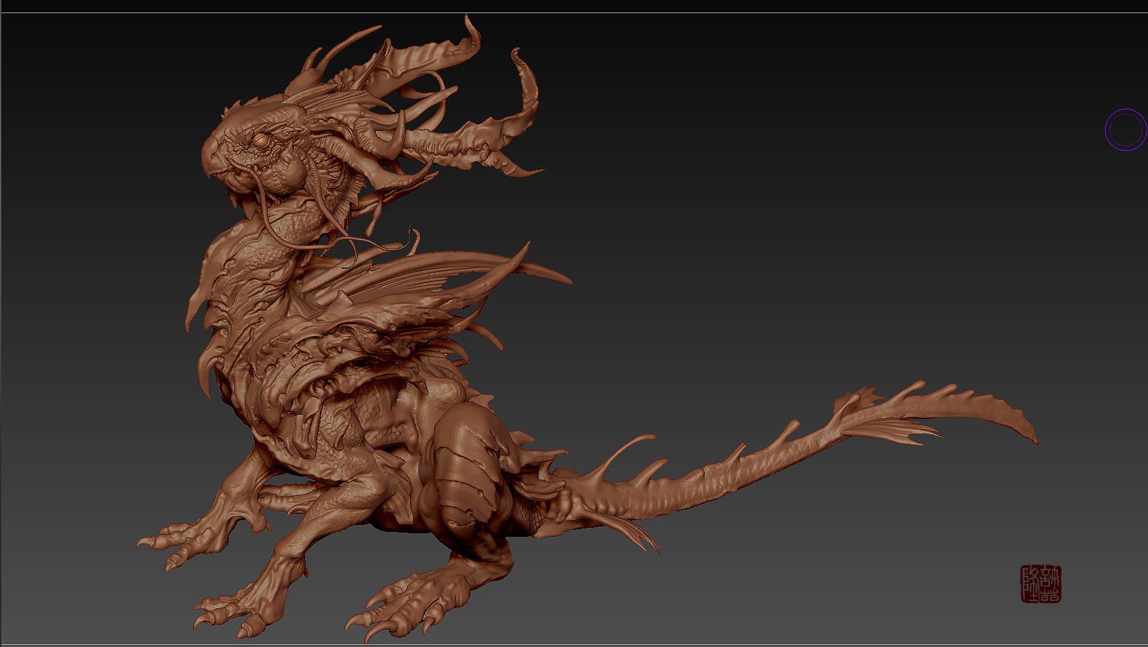 Zhelong xu wip zhelong xu the beta dragon screenshot03