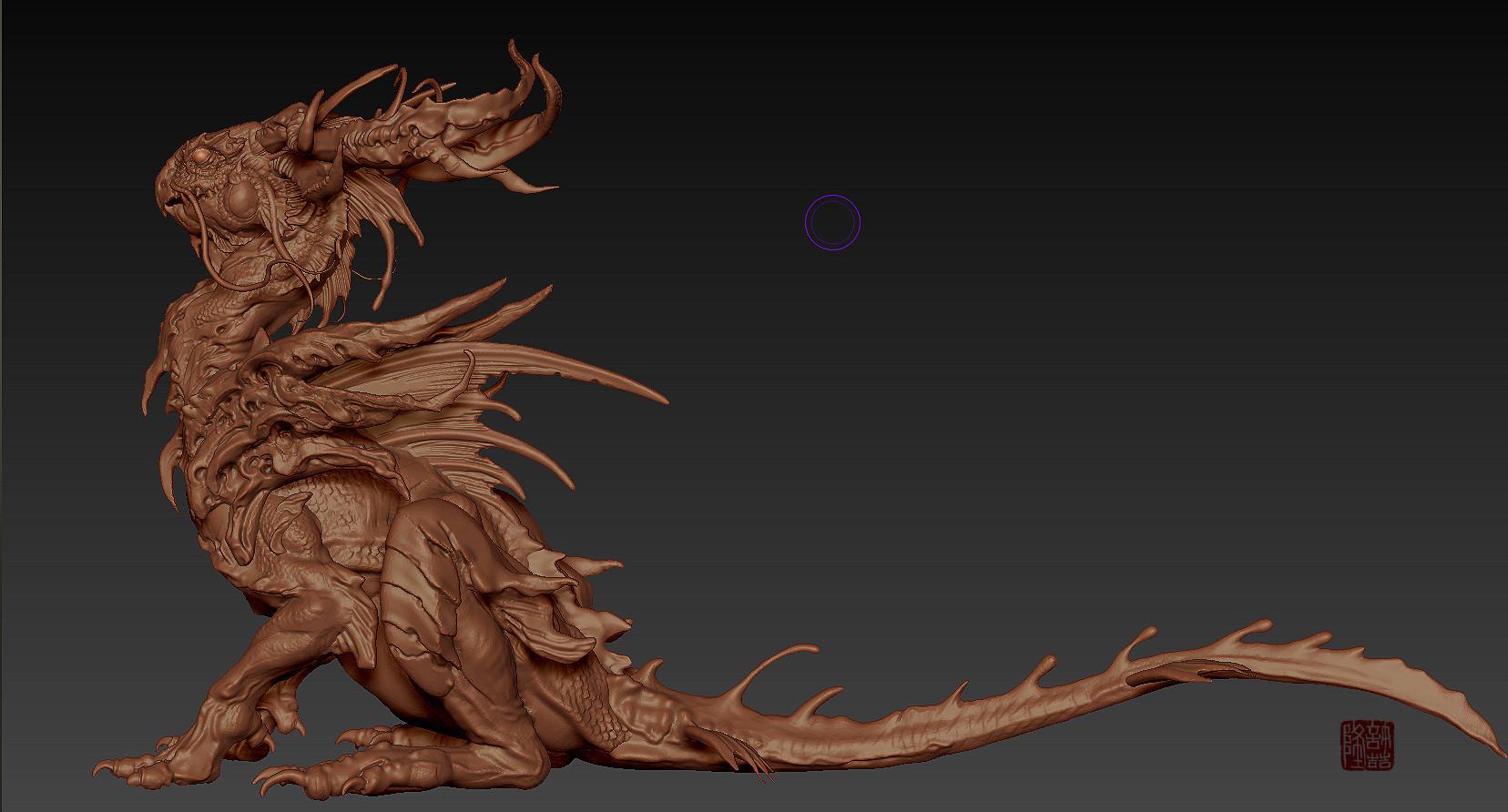 Zhelong xu wip zhelong xu the beta dragon screenshot01
