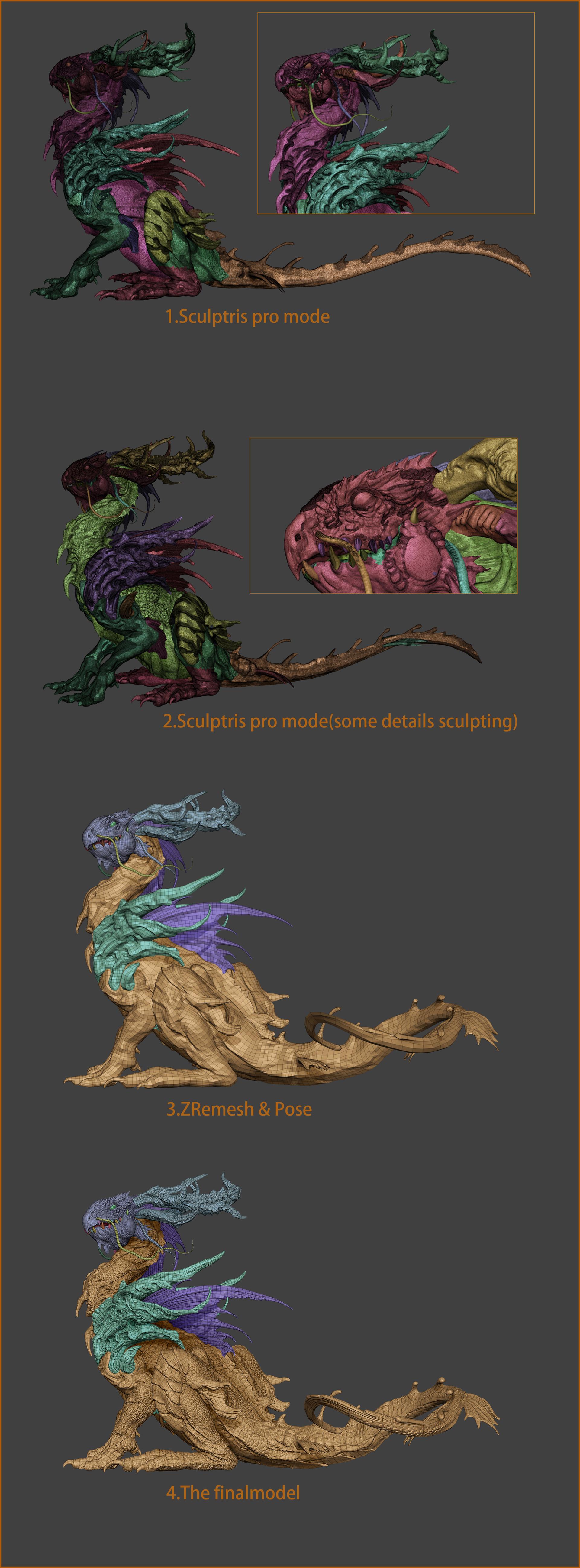 Zhelong xu wip zhelong xu the beta dragon