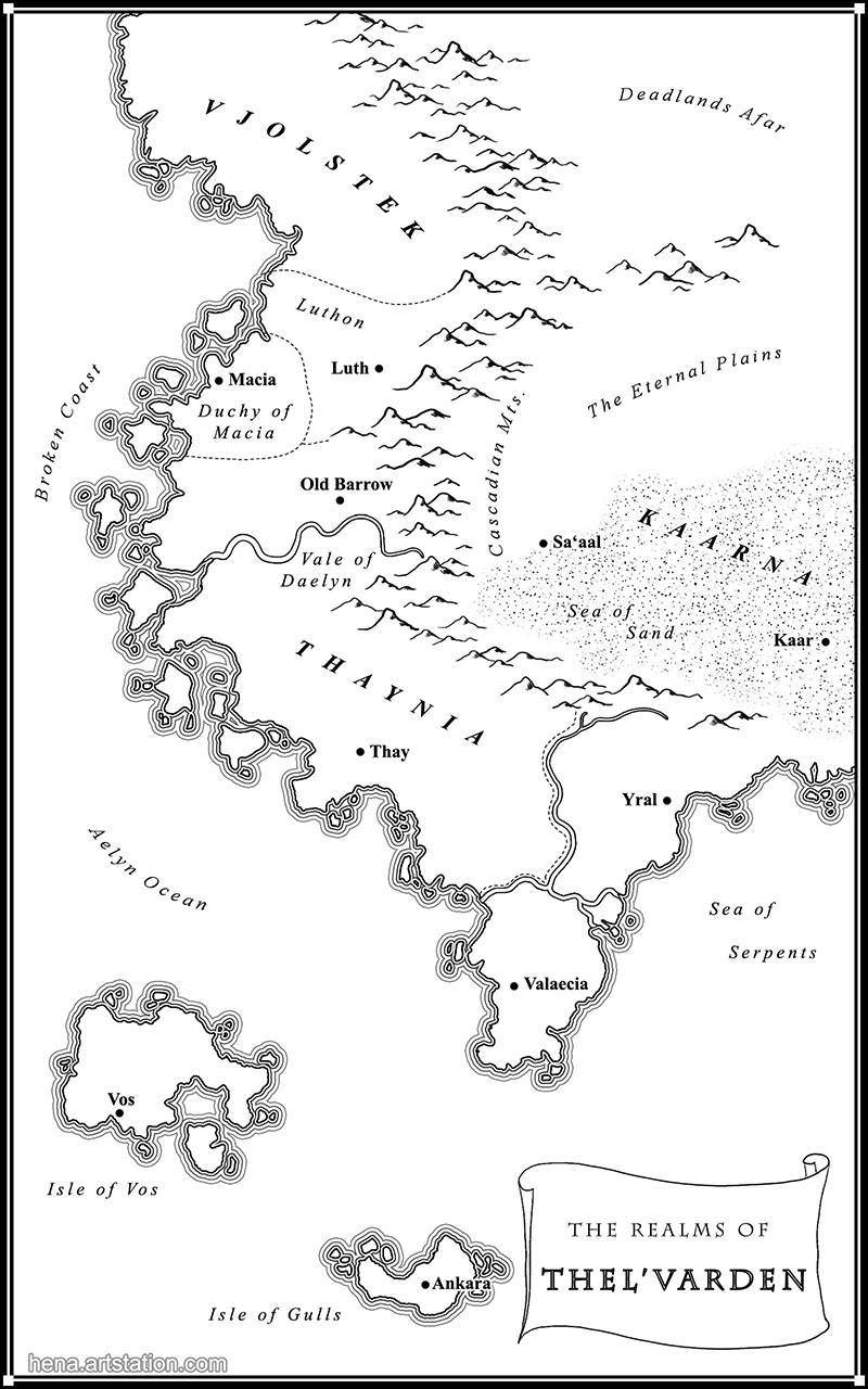 Map of Thel'Varden