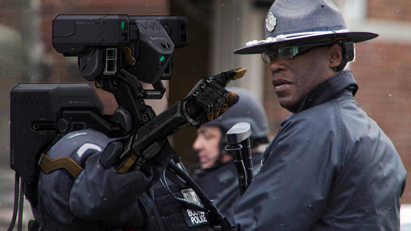 Boston Police Drone