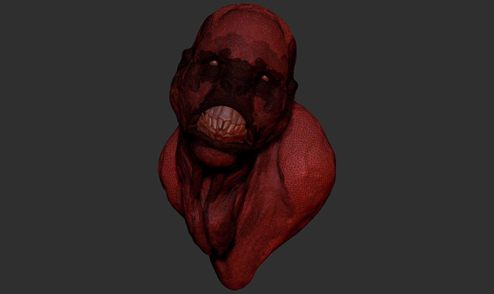 Sculptris wireframe