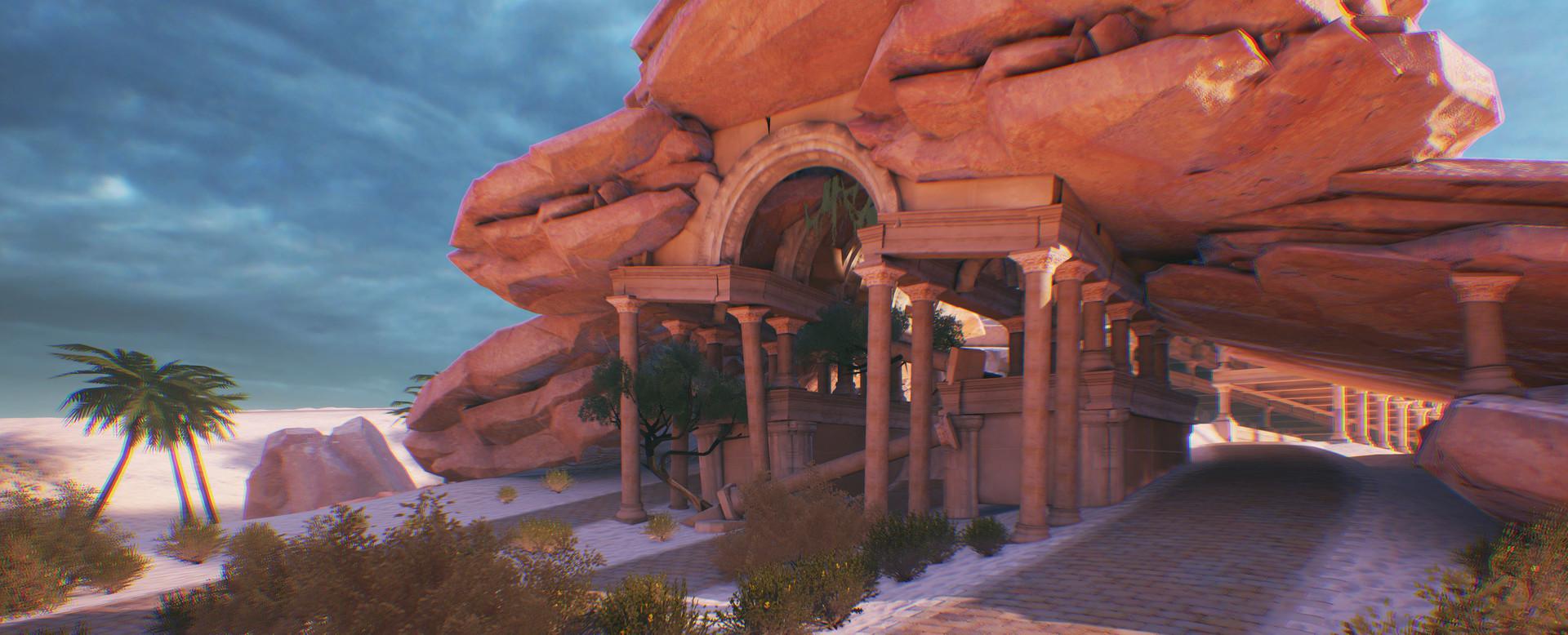 Florian thomasset desert temple 2